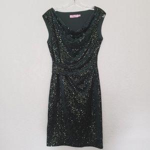 Sequined Eliza J Sheath Dress